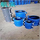 河北航策建材供应直管铸铁抢修接 哈夫节 管卡补漏器快速水管接头配件;