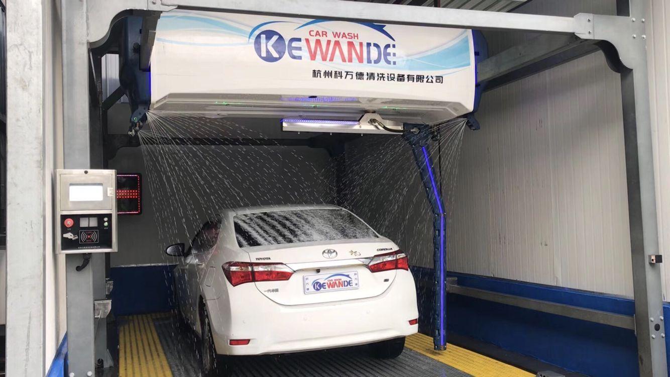 24小時無人值守洗車機 商用大型免挖槽科萬德智能全自動洗車機