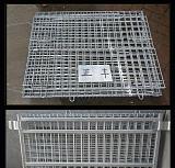 铁镀折叠仓储笼 货物周转箱 汽车配件周转筐;