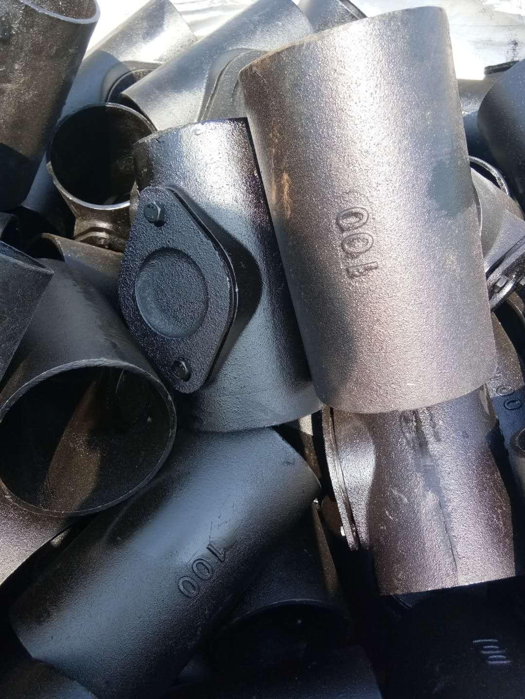 批发销售铸铁双弯头 45°弯头 三通 北京新兴铸铁管