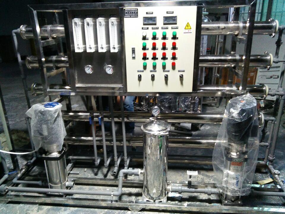 去离子纯水设备 二级反渗透设备