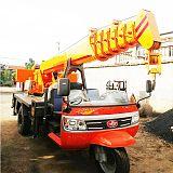 广西林业三轮吊车生产厂家 五征底盘改装5吨三轮吊车价格 农村建房吊楼板;