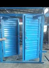 矿用百叶式调节风窗|插板式调节风门风窗安装操作;