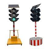 LED移动推车太阳能信号灯红绿灯临时路口使用;
