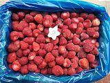山东工厂直销鲜果速冻冷冻美十三草莓吨位批量供应;
