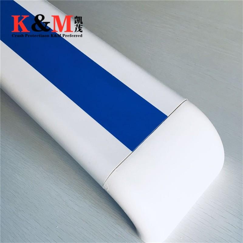 甘肃医院走廊专用防撞扶手PVC140款蓝色