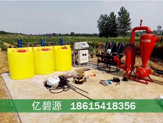 咸陽智慧水肥藥一體化噴灌系統示意圖