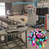 山东一航PU粉扑机器聚氨酯粉扑生产设备全部技术支持上门包教包会;