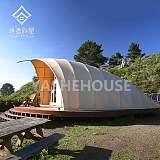 韩式特色海边主题酒店帐篷,野奢自然的景区营地民宿帐篷酒店;