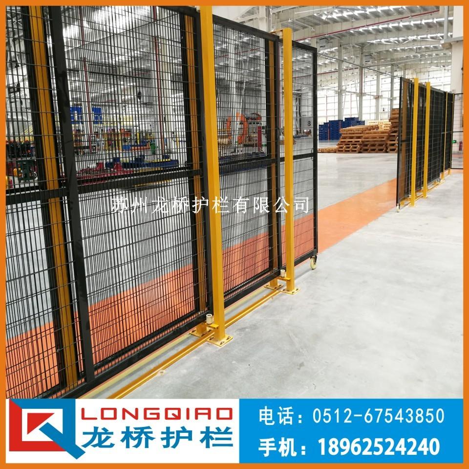 襄阳机器设备安全围栏 工业厂区隔离围栏 镀锌钢管烤漆镀锌网隔离网