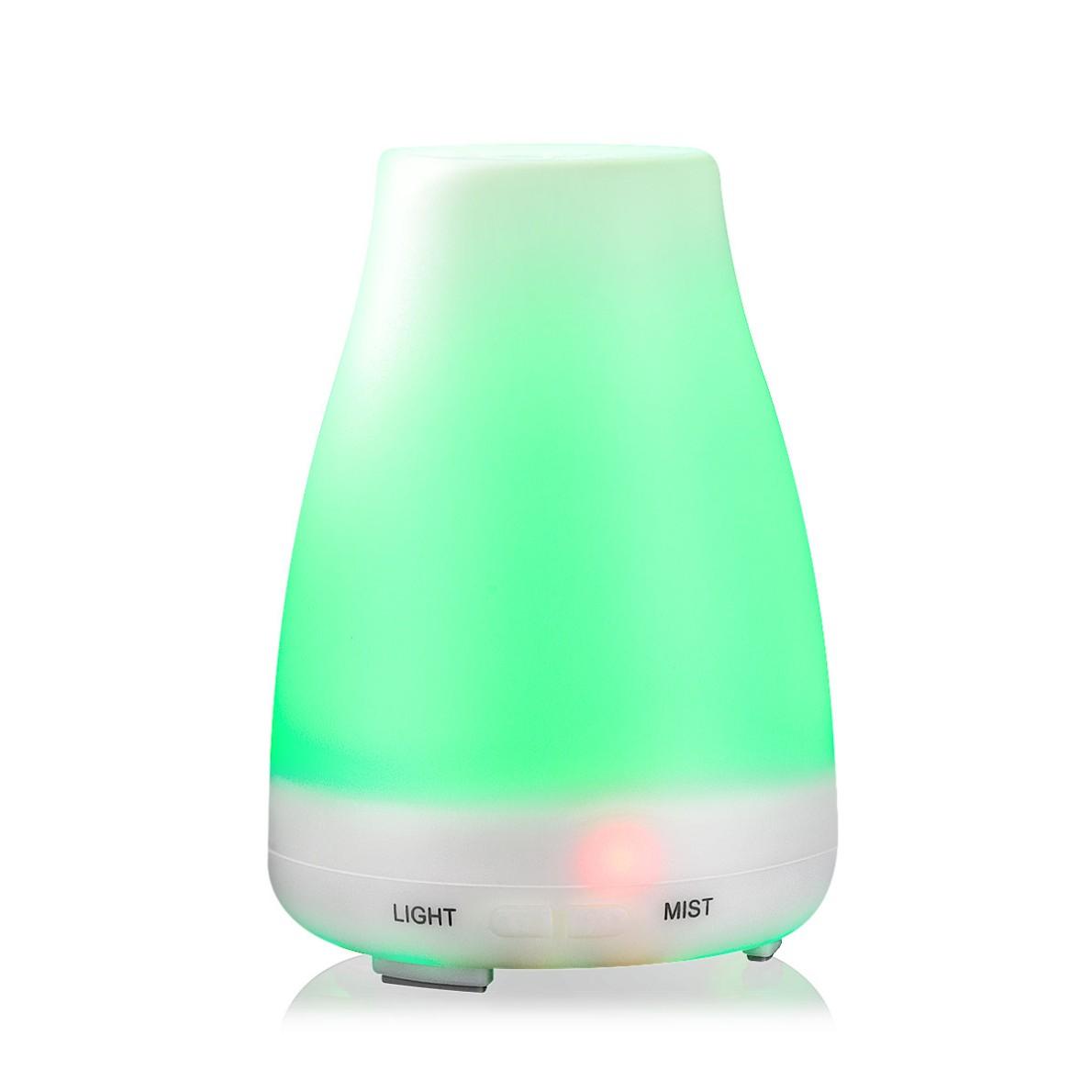 清瓶香薰机加湿器 无印七彩灯 精致香薰生活 礼品定制