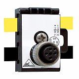 AS-iAUX 无源分线器 ASI 黄色黑色电缆转M12 快速连接 倍加福;