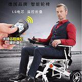 西安斯维驰电动轮椅SW009遥控折叠智能锂电老人残疾人专用电动代步车;