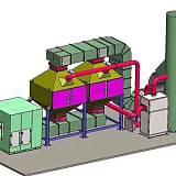 天津一万风量催化燃烧技术方案报价 结构特点;