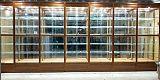 广西钛合金玻璃展柜、珠宝展柜、精品柜、礼品柜