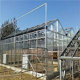 pc板温室大棚建设 阳光板大棚工程承建 纹洛型塑料板温室搭建;