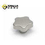烟台 TANJA T54凸轮式旋钮 不锈钢亚光饰面旋钮 食品器械旋钮 五角旋钮;