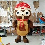 赣州科尼活动玩偶服装松鼠人偶服装定制