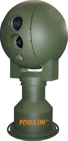 光电转台 球形转台 抗台风球型云台 双光谱热成像摄像机火灾监控
