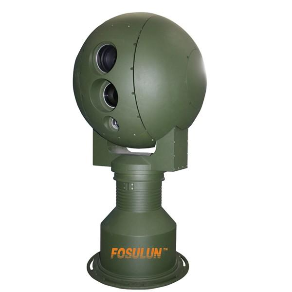 光电转台 监控转台 抗台风球型转台 双光谱热成像摄像机火灾监控云台