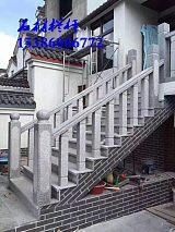 湖南衡阳石材栏杆 桥梁河道防护石材护栏 芝麻灰石材雕刻栏板