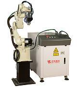 珠海2000w连续光纤五金用工业机器人激光焊接机