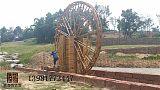 成都木制景观园林水车,仿古水车厂家