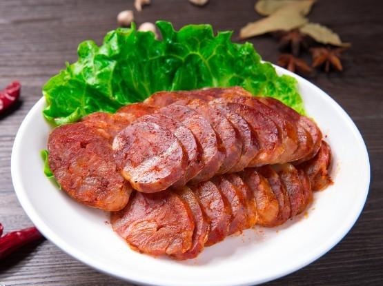 四川農家土豬臘肉香腸。