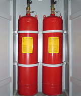 柜式七氟丙烷滅火裝置、檔案室、機房、圖書館專用滅火裝置;