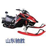 山東馳勝滑雪場娛樂項目雪地車 雙人雪地摩托車 汽油式雪地代步車;