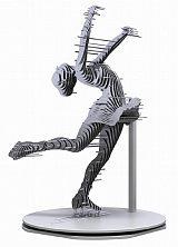苏州金属切片人物雕塑 不锈钢舞蹈造型工艺品摆件;