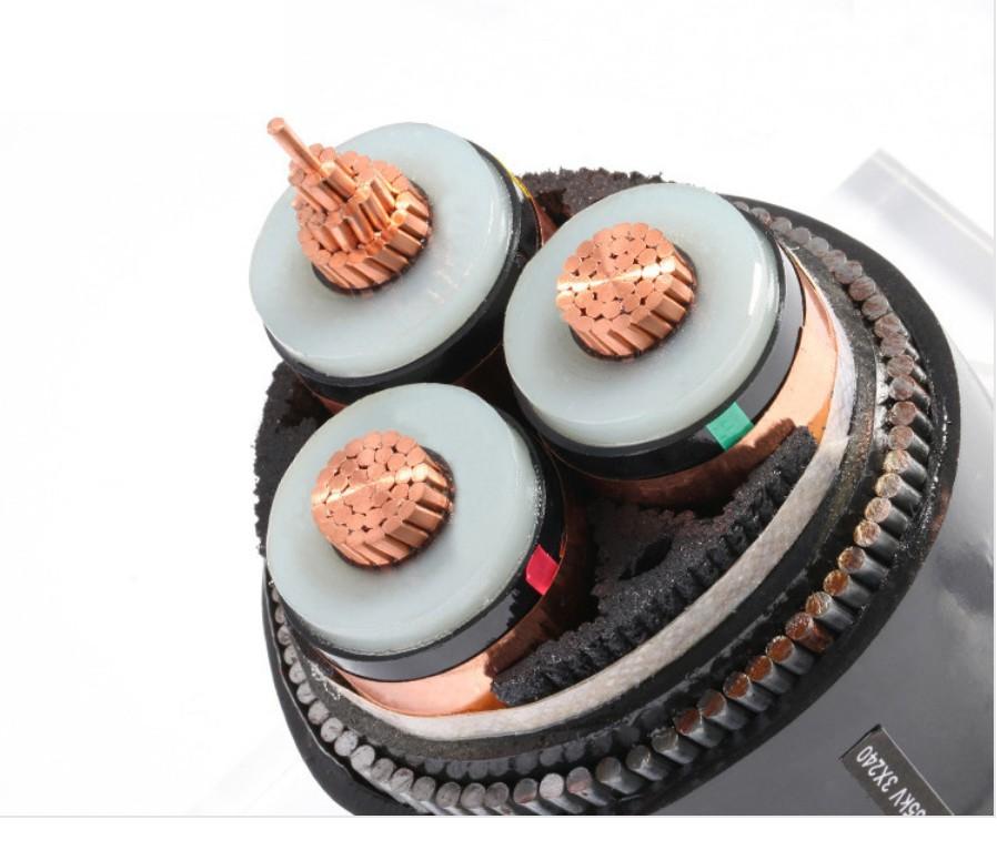浙江万马10,15,20,35KV三芯交联电力电缆