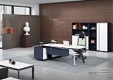 顺德巨欧家具2.2米时尚板式老板桌/经理桌/主管桌;