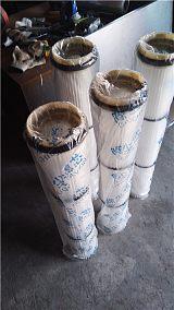 除尘滤筒,除尘滤芯 进行过滤的筒状元件;