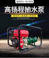西寧高揚程水泵農用抽水泵螺桿自吸泵高壓抽水機1寸汽油機柴油機300米