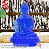 密宗琉璃藥師佛擺件大中小號藥師佛定制佛教用品批發;