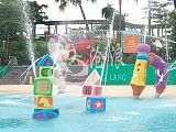 廣州水上樂園設備廠家直供 戲水小品 積木噴水