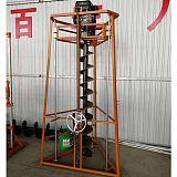 三脚架框架式挖坑打孔设备山东厂家;