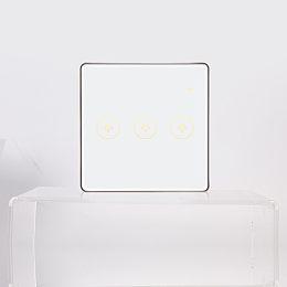 博視無線智能控制 智能燈光開關面板(一路/二路/三路可選)