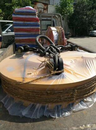 叉車安裝磁鐵吸盤