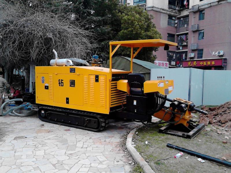 ZT25A型钻机武汉顶管施工中
