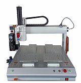 东莞+三轴实时影像自动点胶机+机械设备;
