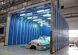 河北石家庄专业生产移动伸缩喷漆房 移动伸缩喷漆房价格 用途