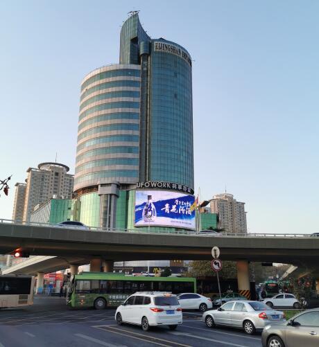 郑州紫荆山百货LED大屏推荐方案-郑州龙之湖媒体方案