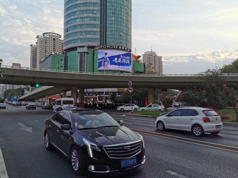 郑州紫荆山百货大楼LED大屏广告火热招商中