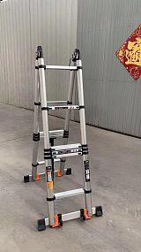 定制临沂铝材合金竹节梯