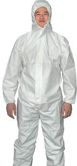 一次性无纺布防护服;