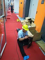 廣州數據中心機房網絡布線工程流程;