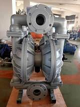 清远矿用铝合金气动隔膜泵产地直销;