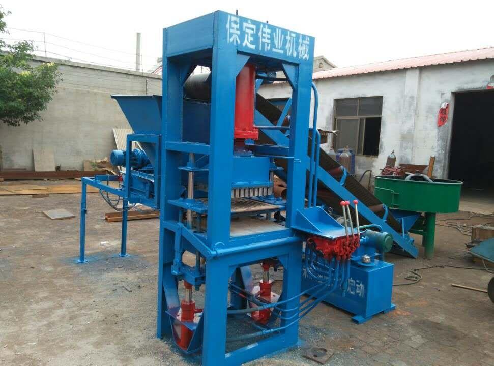 水泥垫块机,保定伟业液压机械厂专业生产厂价销售